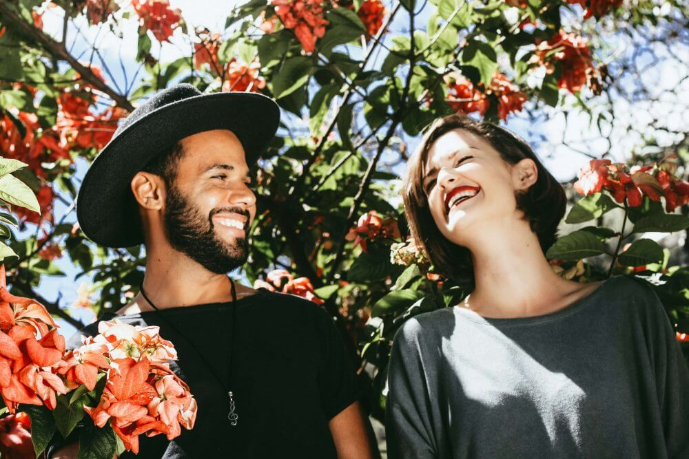 Attachment Styles - Happy Couple Outdoors