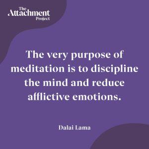 Attachment Project - quote by the dalai lama