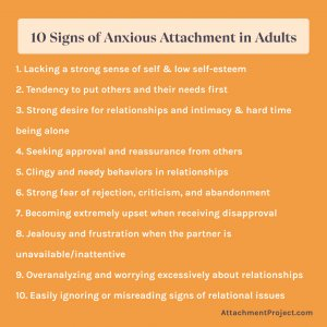 10 Signs of Anxious Preoccupied Attachment Style in Adults