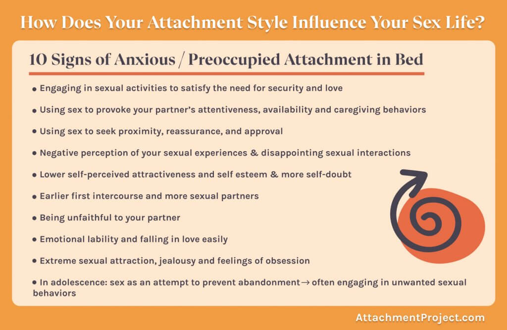 casual sex and insecure attachment styles - 10 signs of anxious attachment in the bedroom