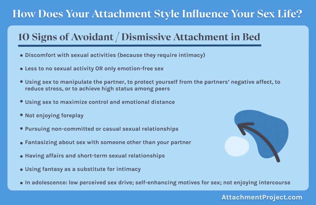 casual sex and insecure attachment styles -  10 signs of avoidant attachment in the bedroom