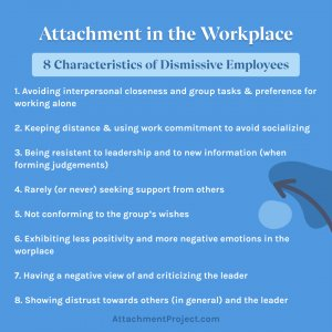 Dismissive Avoidant Attachment Style in the Workplace