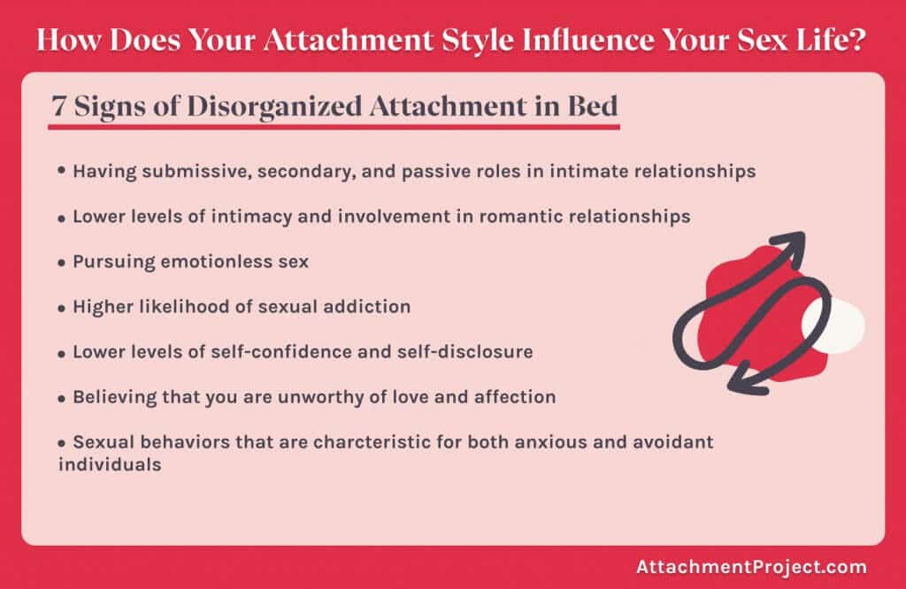 casual sex and insecure attachment styles -  10 signs of disorganized attachment in the bedroom
