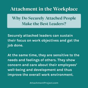 Secure Attachment Style at Work