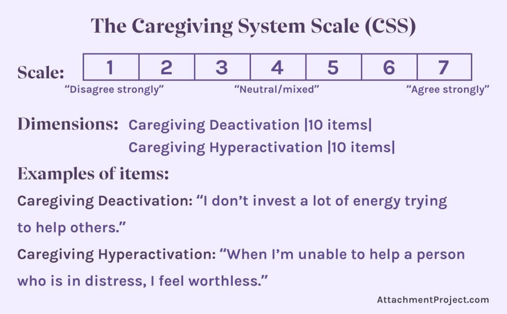 The Caregiving System Scale (CSS)